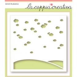 Stencil La Coppia Creativa - Giorno Perfetto