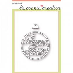 Fustella La Coppia Creativa - Buone Feste