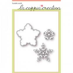Fustella La Coppia Creativa - Fiocco Di Neve 2