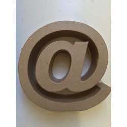 Lettera in Cartone Glorex - @