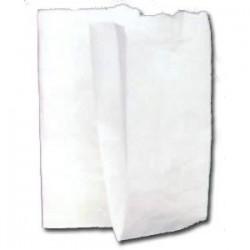 Sacchetto carta bianco - 12x23 cm