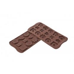Stampo SilikoMart - Choco Buttons
