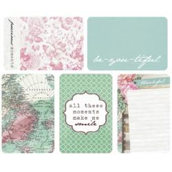 """Journal Cards Kaisercraft - 4x6"""" - Pretty Little Things"""