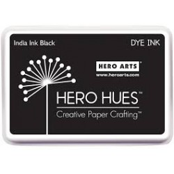 Tampone Hero Arts Dye Ink - India Black