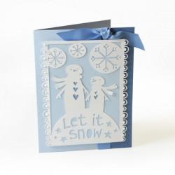 Fustella Sizzix Thinlits - Let it Snow