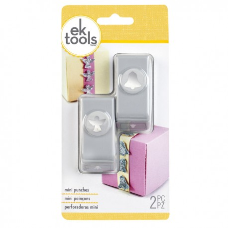 Punch Ek Tools - Mini - Angel and Bell
