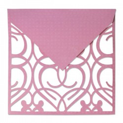 Fustella Sizzix Thinlits Plus - Envelope, Square