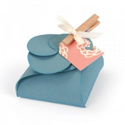 Fustella Sizzix Thinlits Plus - Timeless Love Gift Box