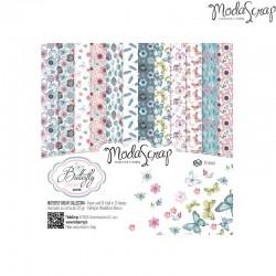 Pad Carte 15x15cm ModaScrap - Butterfly Dream