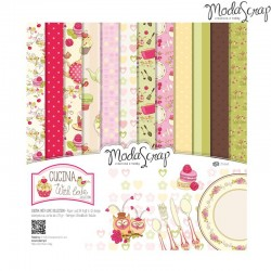 Pad Carte 15x15cm ModaScrap - Cucina With Love