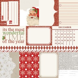 Carta Teresa Collins - Santa's List - Notecards