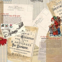 Carta Teresa Collins - Santa's List - Postcard