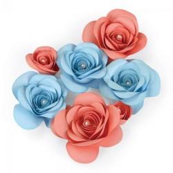 Fustella Sizzix Thinlits Plus - D Floral 2