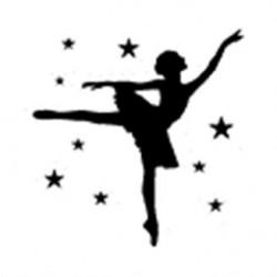 Timbri clear Artemio + Base  - Ballerina