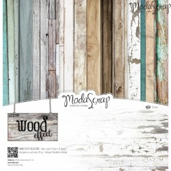 "Kit carte ModaScrap - 12""x 12"" Wood Effect"
