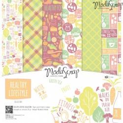 Kit carte ModaScrap - Healthy Lifestyle