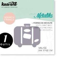 Fustella Kesi'Art - Métaliks mini Valise