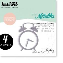 Fustella Kesi'Art - Métaliks mini Reveil