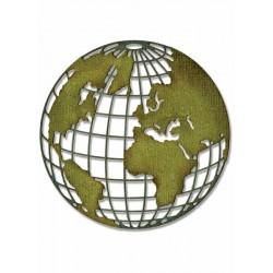 Fustella Sizzix Thinlits T.Holtz - Globe