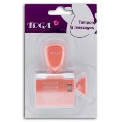 Timbro con messaggi Toga - Progetto Foto