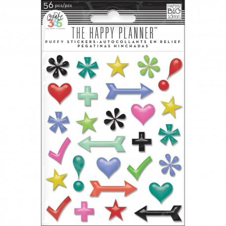 Stickers 3D Puffy Me&My Big Ideas - Simbols