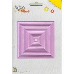 Fustella Nellie Snellen - Straight Square