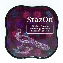 Tampone stazon - Gothic Purple