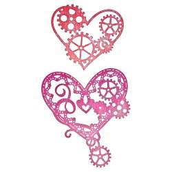Fustella Cheery Lynn - Hearts'n Gears