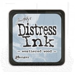 Tampone Distress Mini - Weathered Wood
