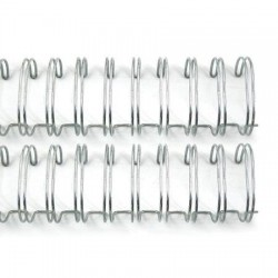 We R Memory keepers - 2 Spirali metalliche argento 1 inch