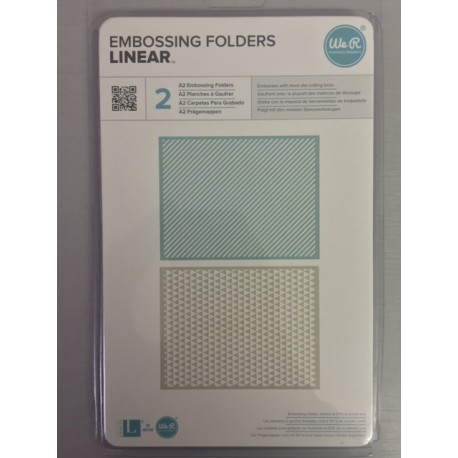 Embossing Folder We r Memory - Linear