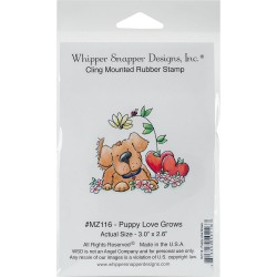 Timbro cling Whipper Snapper Designs - Puppy Love Grows