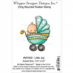 Timbro cling Whipper Snapper Designs - Little Joy