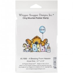 Timbro cling Whipper Snapper Designs - A Blessing From Heaven