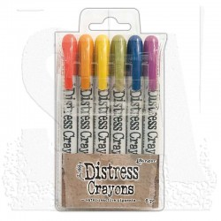 Pennarelli Distress Crayons - Set 2