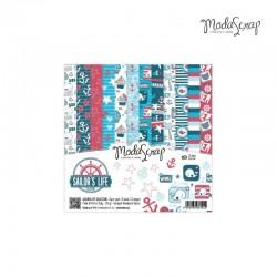 Pad Carte 15x15cm ModaScrap - Sailor's Life