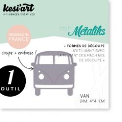 Fustella Kesi'Art - Métaliks mini Van