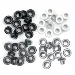 Occhielli per foratrice  We R - Standard Grey