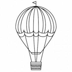 Timbro Legno con manico Rico Design - Hot-ari ballon