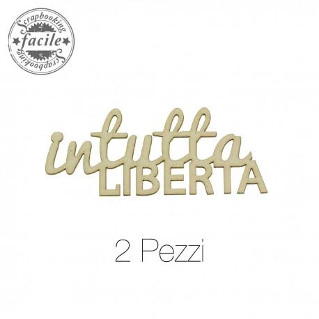 Abbellimenti in cartone vegetale Scrapbooking Facile - In Tutta Libertà