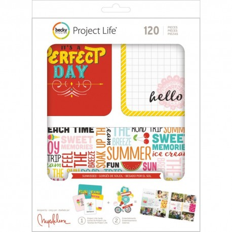 Kit Project Life - Sunkissed
