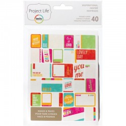 Kit 40 carte - Becky Higgins - Inspirational