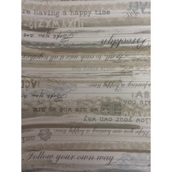 Carta da parati - Scritte Vintage