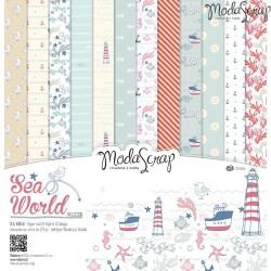 Kit carte ModaScrap - Sea World