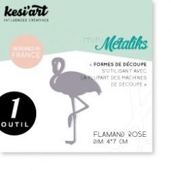 Fustella Kesi'Art - Métaliks mini Flamand Rose