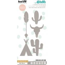 Fustella Kesi'Art - Métaliks Mexico