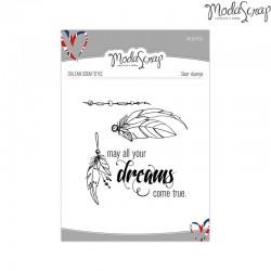 Timbro Clear ModaScrap English Style - Dreams