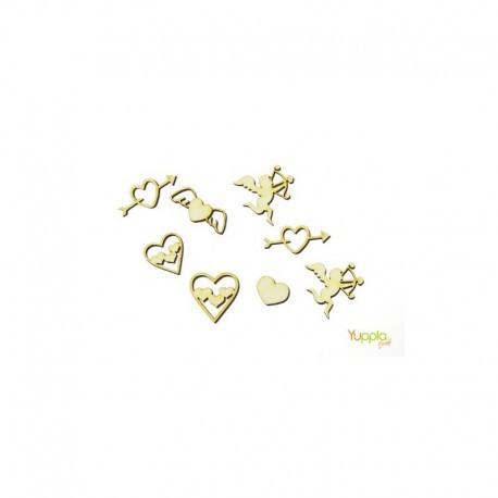 Abbellimenti in cartone vegetale Yuppla - Amore - Cupido