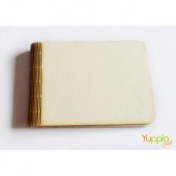 Abbellimenti in cartone vegetale Yuppla - Base Album - Dorso Traforato