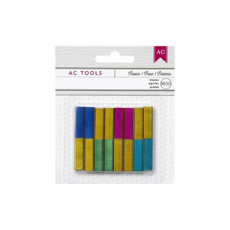 48cc6d685f Punti per pinzatrice colorati - American Crafts - Di Corso In Corso